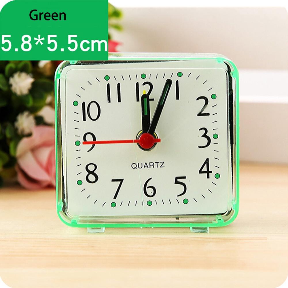 Đồng hồ báo thức hình vuông nhỏ đơn giản dễ thương