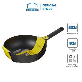 Chảo sâu lòng Soma Lock&Lock 28cm (Có thể dùng bếp từ) - đen - LMH1285IH thumbnail