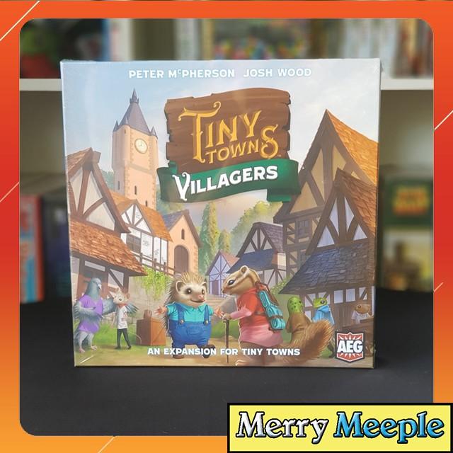 [US] Tiny Towns: Villagers – Bản mở rộng – Trò chơi board game