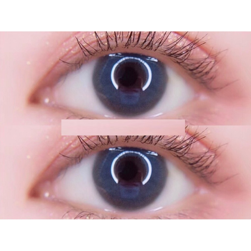 (1pair)(20.MAY.29)XJLAN Series,LUCYCON Brand,14.0mm,high nearsighted(Grade 0-10.0),Contact Lens yearly use(blue)