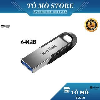 [Mã ELFLASH5 giảm 20K đơn 50K] USB 3.0 SanDisk CZ73 Ultra Flair 64GB 150MB/s - Bảo hành 2 năm