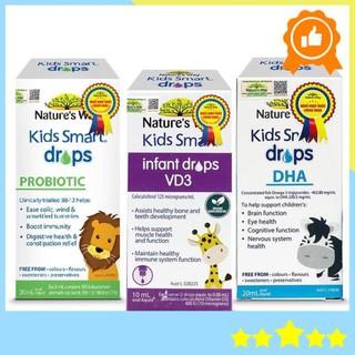 Combo DHA + Probiotics + VD3 của Nature's Way bổ sung D3 lợi khuẩn và tăng cường hệ miễn dịch cho bé
