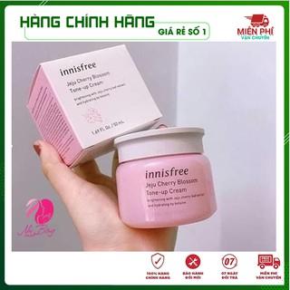 [Hàng Auth Hàn Quốc] Kem dưỡng trắng da - Kem dưỡng ẩm bật tông chiết xuất Anh Đào Nâng Tone Innisfree 50ml thumbnail