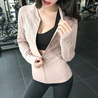 [SỈ ♥ LẺ] Áo khoác tập Gym, Yoga đa năng cao cấp hàng QC Mã LM BR00055