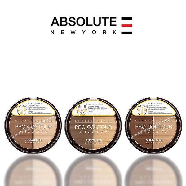 Phấn tạo khối hai màu Absolute New York Pro Contour Palette APC 18g