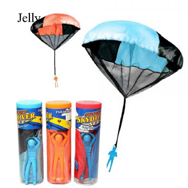 Children Babies Outdoor Sports Throwing Mini Parachute Toy Color Quantity 1 J694