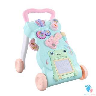Baby Walker Trolley Early Learning Puzzle Baby Multi-Function Walker