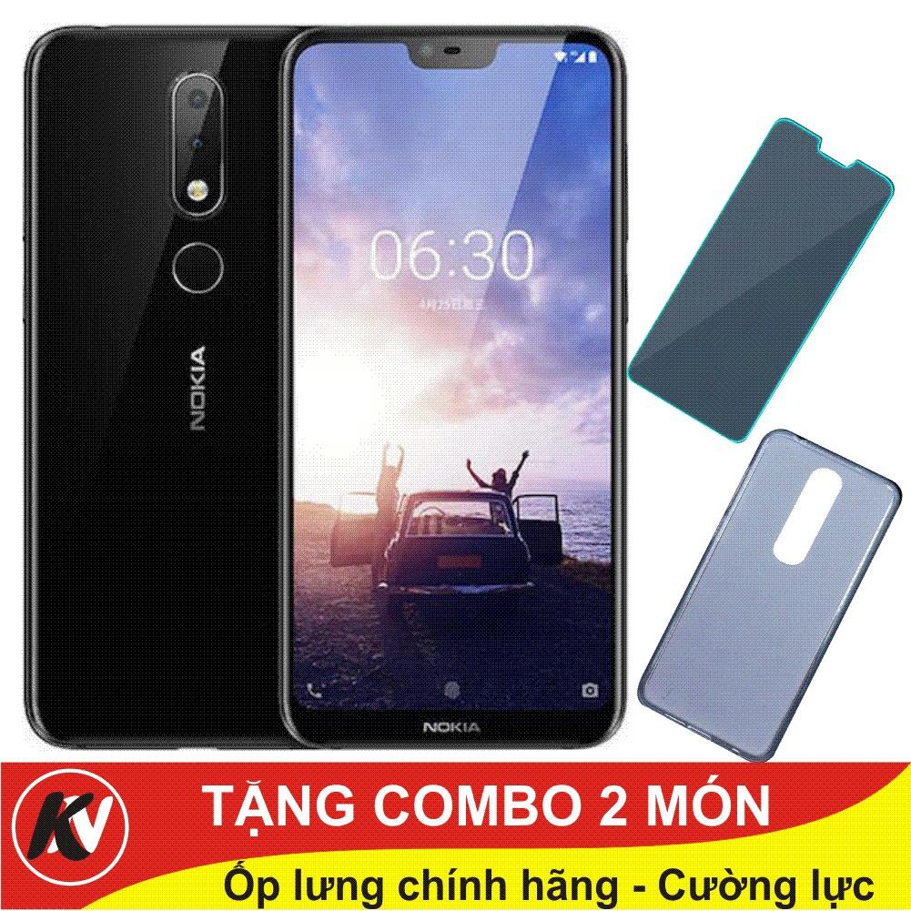 Combo Điện thoại Nokia X5, Nokiax5, Nokia X 5 tai thỏ 2018 32GB Ram 3GB + ốp lưng + Cường Lực