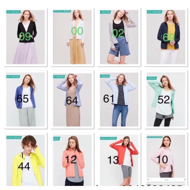 Áo chống nắng nữ Uniqlo 2020 size S,M,L