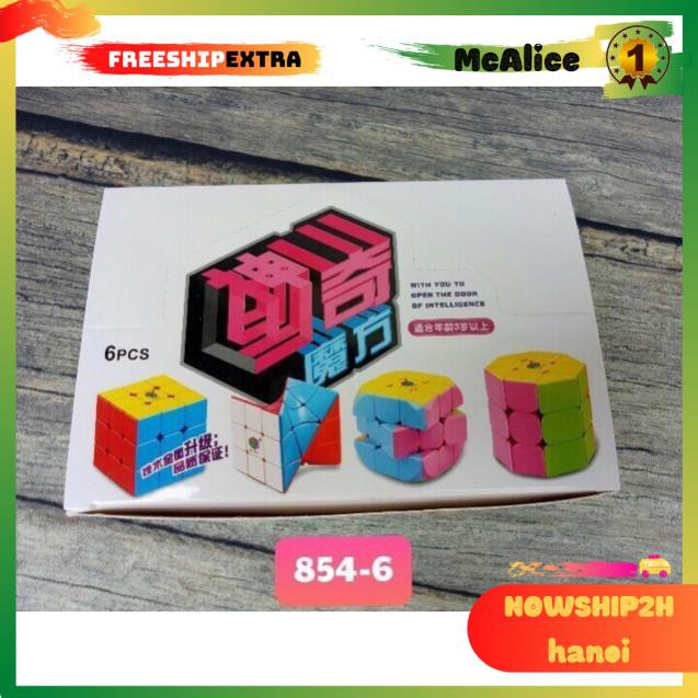 Rubik hộp 6 cái