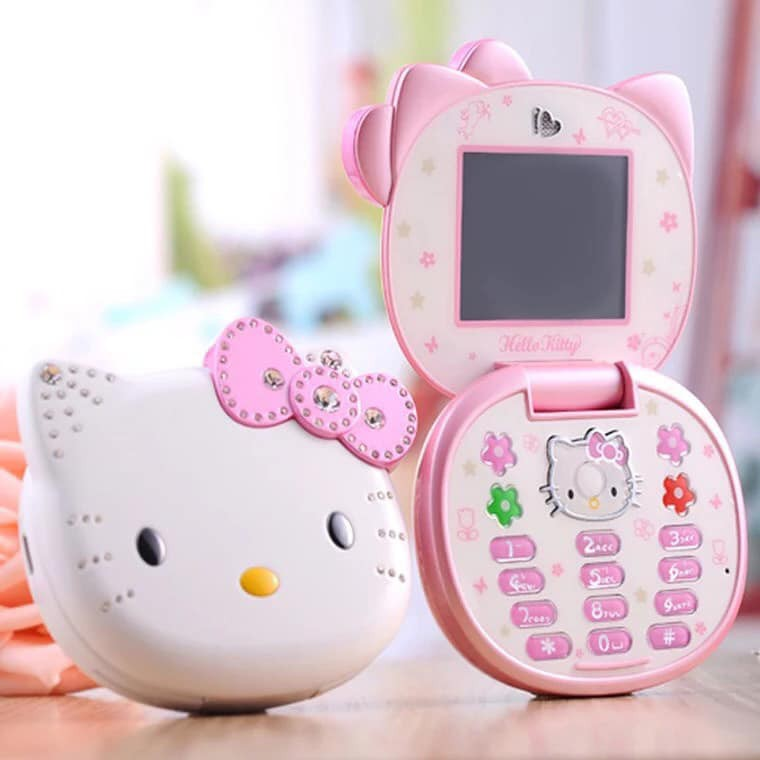Điện thoại mèo kitty dễ thương