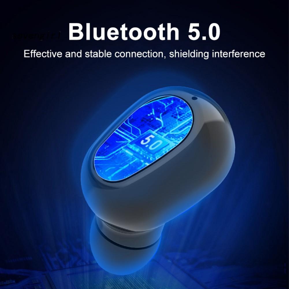 Tai Nghe Bluetooth 5.0 Không Dây Kiểu Dáng Thể Thao L21 Tws
