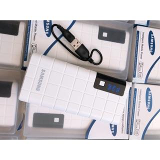 Pin dự phòng Sam Sung 20000 mah đèn led. 3 cổng USB. Cam kết chính hãng