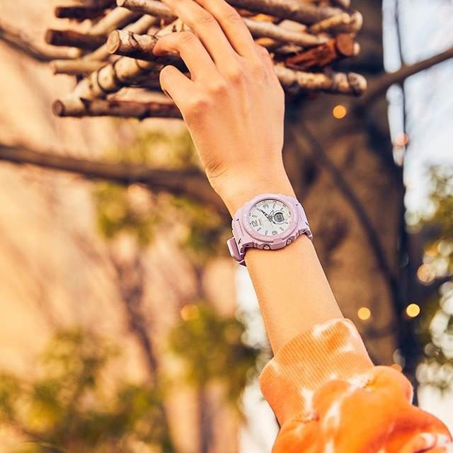 Đồng hồ nữ dây nhựa Casio Baby-G chính hãng Anh Khuê BGA-260SC-4ADR