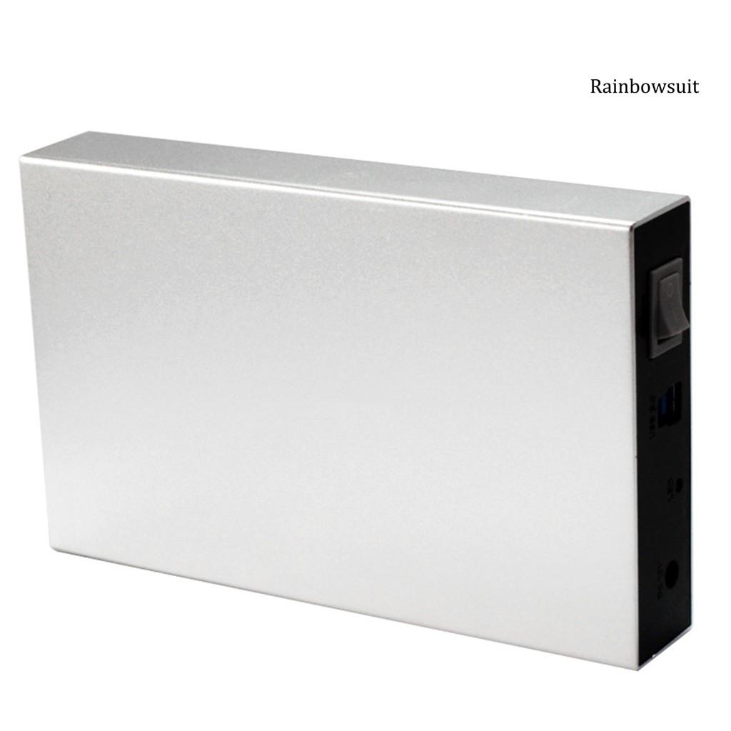 Hộp Đựng Ổ Cứng Ngoài Usb 3.0 5gbps Sata Cho Laptop / Pc