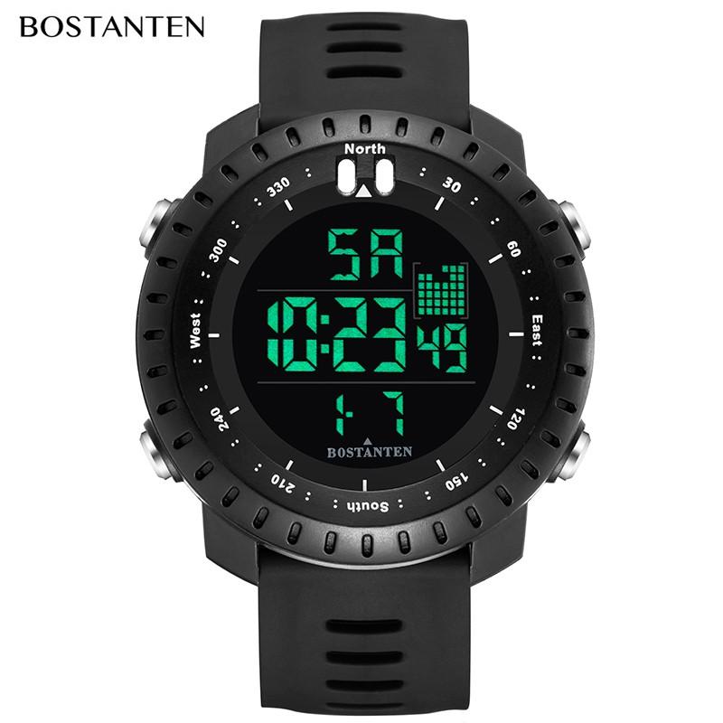 Đồng hồ đeo tay thể thao kỹ thuật số nam Watche không thấm nước