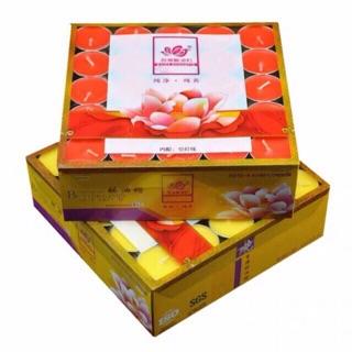 Combo 6 hộp nến bơ 4h Baide 100vien/hộp