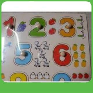 Bảng 10 số tập đếm cho bé 020 có núm – NAM TỪ LIÊM