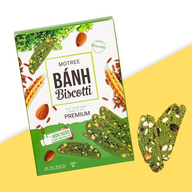 Bánh ăn kiêng Biscotti Motree , hỗ trợ đẹp dáng, nguyên chất hạnh nhân và  nữ hoàng rau xanh   Shopee Việt Nam