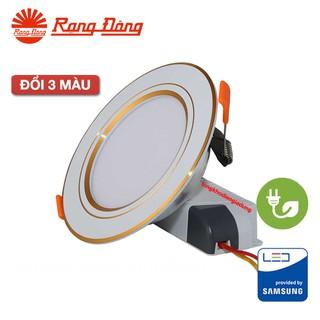 Đèn LED Âm trần Downlight Đổi màu 3 chế độ Rạng Đông 7W – 9W – 12W DAT10L ĐM