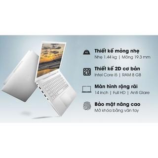 Laptop Dell Inspiron 5490 FMKJV1 Core i5-10210U/8GB/512GB/2GB MX230/14.0 FHD/Win10/Silver