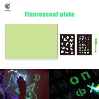 Kids A3 A4 LED Tracing Light Board Drawing Pad Table Stencil Draw with Light In Dark