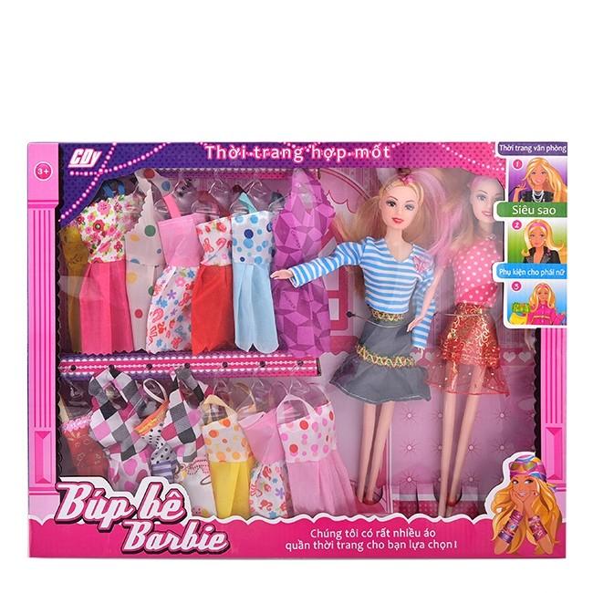 Bộ đồ chơi búp bê Barbie song sinh sưu tập thời trang   Shopee Việt Nam