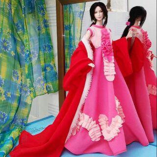 Áo đầm búp bê Barbie