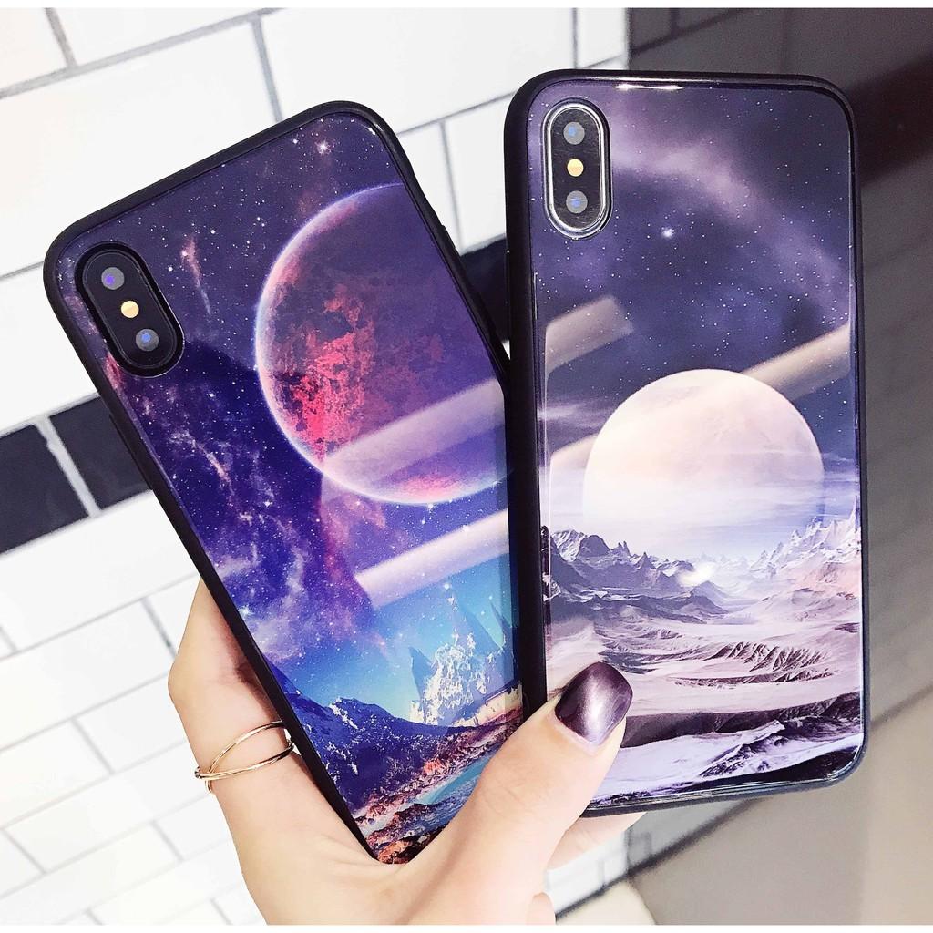 từ 6-X ốp galaxy trăng cho iPhone