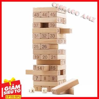 Rút gỗ loại lớn – đồ chơi rèn luyện sự khéo léo