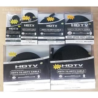 (1,5m đến 20m) Dây HDMI XBOX 360 cao cấp. Hỗ trợ hình ảnh độ phân giải cao HD, full HD 1080p, 3D,2K,4K Dùng cho Smart ti