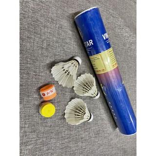 Combo 3 trái cầu lông và 2 cuốn cán vợt, phụ kiện không thể thiếu của dân đánh cầu lông, ĐÁNH BAO CHUẨN thumbnail