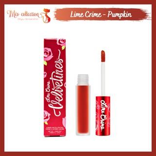 Son kem lì Lime Crime Velvetines Matte Liquid Lipstick màu Pumpkin, New Americana, Paulette thumbnail