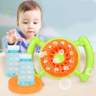 ★Hi★Bubble Machine Steering Wheel Automatic Bubble Blower Outdoor Toys