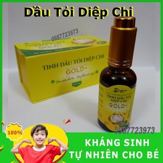 Dầu Tỏi Diệp Chi Gold Plus Tăng Đề Kháng, Đánh Bay Ho, Mũi - An Toàn Cho Bé thumbnail