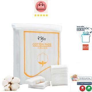 Bông tẩy trang LEVAN 222 miếng cotton pads 3 lớp mềm mịn không gây kích ứng da BONGTAYTRANG1K9K.01