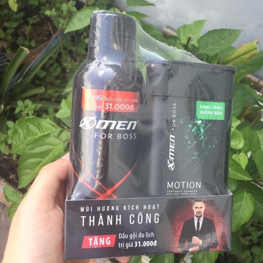 [QUÀ] Xịt khử mùi X-Men for Boss 150ml + Tặng Dầu gội 85g