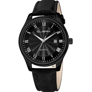 Đồng hồ nam CUENA C868 lịch ngày sang trọng chống nước 3ATM chất liệu dây da Pu mềm dễ đeo đẳng cấp quý ông lịch lãm thumbnail