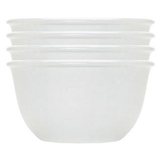 Bộ 4 Chén Cơm Thủy Tinh Winter Frost White Corelle 1105491 (325ml / Chén)