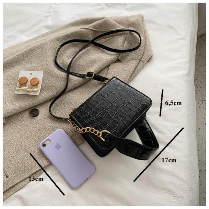 HOTT ( ẢNH THẬT ) Túi xách nữ đeo chéo TINA da mềm đi chơi giá rẻ
