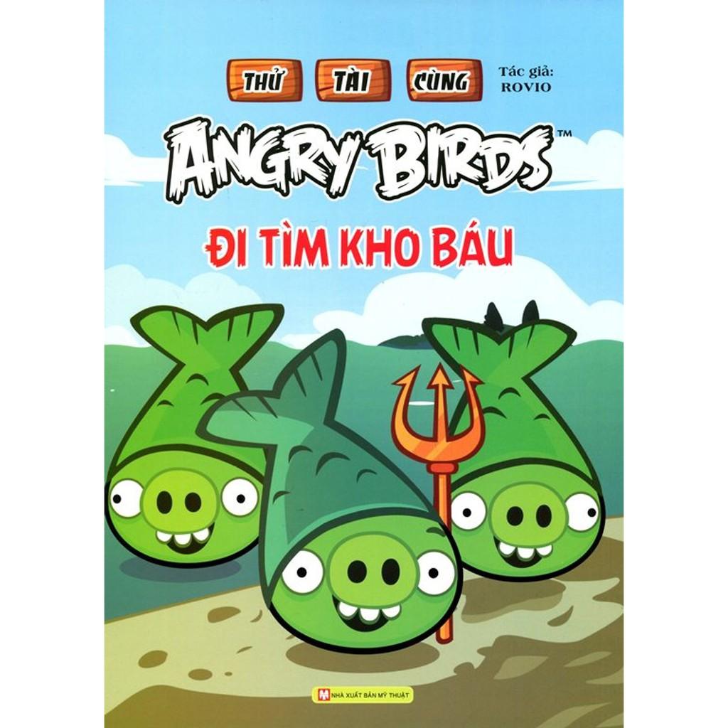 Sách - Thử Tài Cùng Angry Birds - Đi Tìm Kho Báu