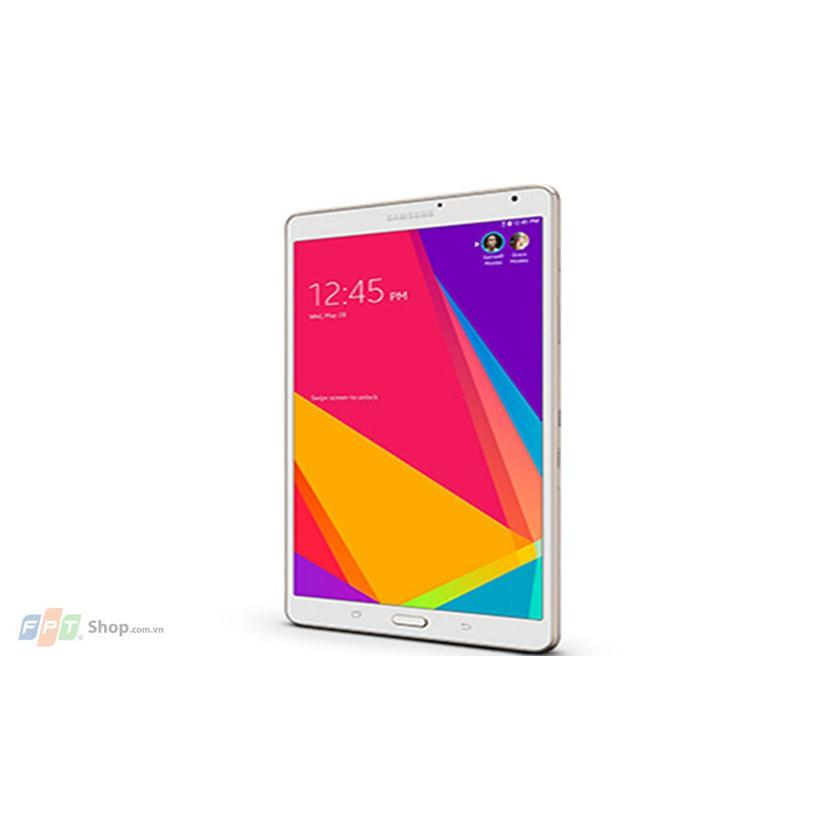 Máy tính bảng Samsung Galaxy Tab S,  tặng đế dựng, phần mềm bản quyền tiếng Anh 123.