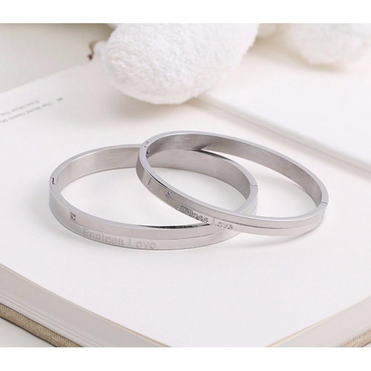 Bộ Vòng Tay Đôi Nam Nữ Endless Love Ti Tan Không Đen Cao Cấp TT 0708 - 2720404 , 465885342 , 322_465885342 , 224000 , Bo-Vong-Tay-Doi-Nam-Nu-Endless-Love-Ti-Tan-Khong-Den-Cao-Cap-TT-0708-322_465885342 , shopee.vn , Bộ Vòng Tay Đôi Nam Nữ Endless Love Ti Tan Không Đen Cao Cấp TT 0708