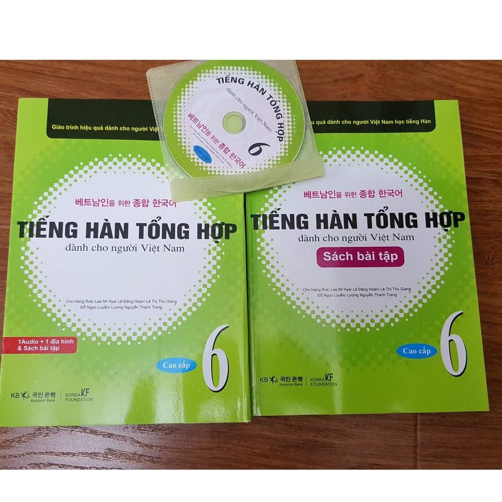 Sách Tập 6 Tiếng Hàn tổng hợp dành cho người Việt (CD + Sách GK, BT) - 3221333 , 1150703201 , 322_1150703201 , 170000 , Sach-Tap-6-Tieng-Han-tong-hop-danh-cho-nguoi-Viet-CD-Sach-GK-BT-322_1150703201 , shopee.vn , Sách Tập 6 Tiếng Hàn tổng hợp dành cho người Việt (CD + Sách GK, BT)
