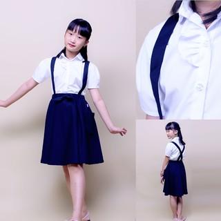 Áo sơ mi đồng phục học sinh nữ xinh đẹp chật liệu Cotton 100% sợi tự nhiên thấm hút mồ hôi mát mẻ- Jadiny