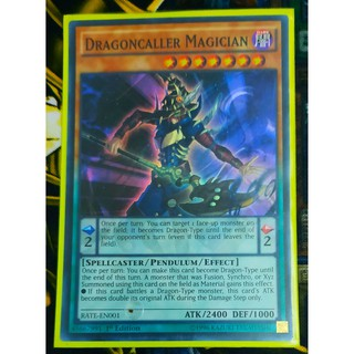 [Thẻ Yugioh] Dragoncaller Magician