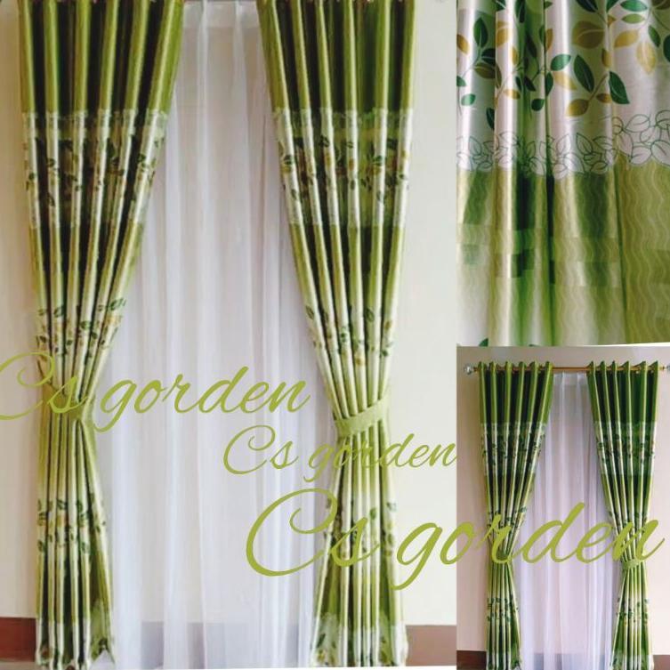 [Có sẵn] Rèm cửa  chống nắng, rèm  trang trí cửa sổ - phòng khách 120 x 150cm