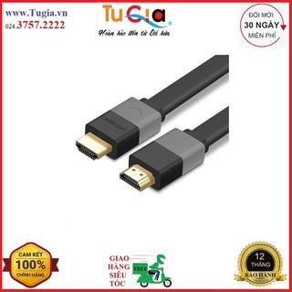 [Mã ELFLASH5 giảm 20K đơn 50K] Dây cáp HDMI dẹt vỏ 1.4 Ugreen 30113 - 8M - Hàng chính hãng