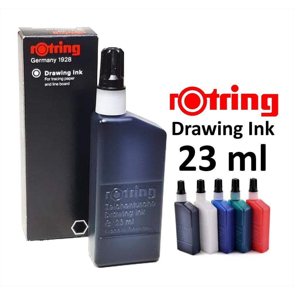 Mực châm dùng cho bút kim vẽ kỹ thuật Rotring Isograph Ink (Lọ mực lẻ)