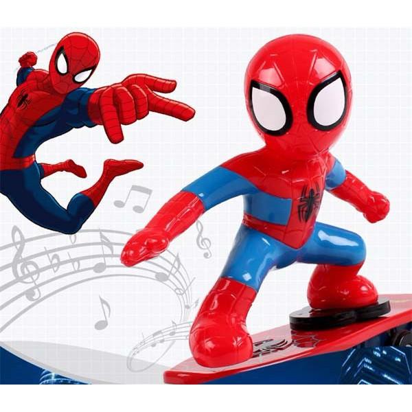Đồ chơi người nhện trượt ván chạy pin ngã tự dậy - 2540648 , 1245209969 , 322_1245209969 , 99000 , Do-choi-nguoi-nhen-truot-van-chay-pin-nga-tu-day-322_1245209969 , shopee.vn , Đồ chơi người nhện trượt ván chạy pin ngã tự dậy